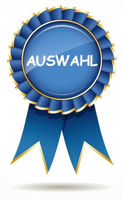 Award Beste Wettauswahl