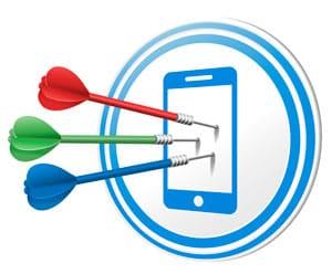 Auf Dart wetten per Handy
